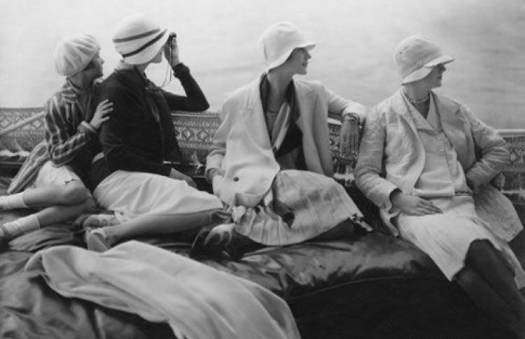 Летняя мода XX века