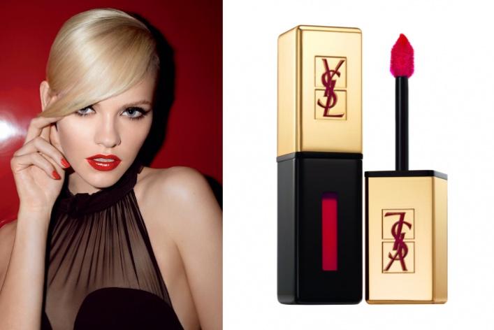 Yves Saint Laurent выпустил новое средство для макияжа: лак для губ Rouge Pur Couture