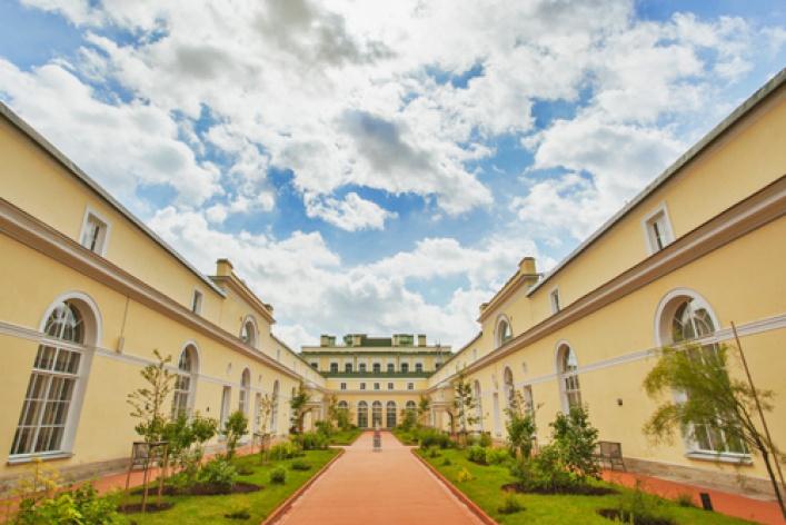 Висячие сады Эрмитажа