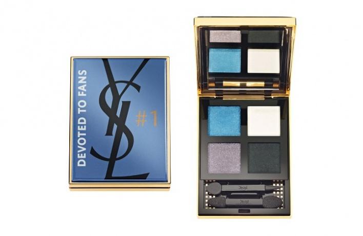 Yves Saint Laurent иFacebook выпустят тени для век