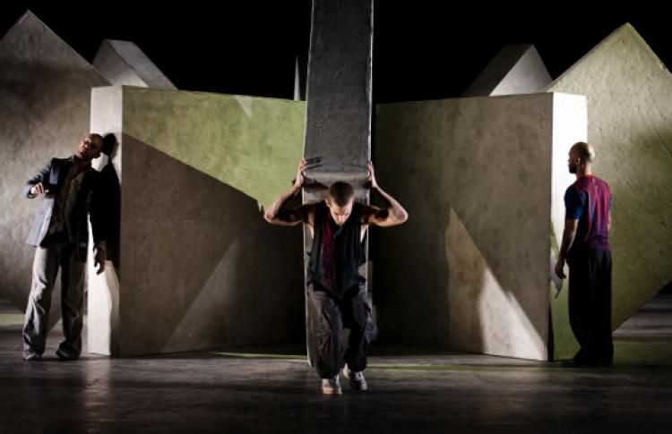 Фестиваль вАвиньоне: балет «Пазл»