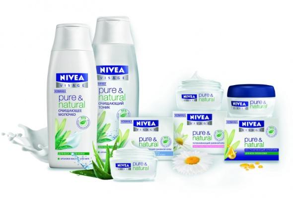 Органическая косметика для молодой кожи— новая линия Pure & Natural отNivea - Фото №0