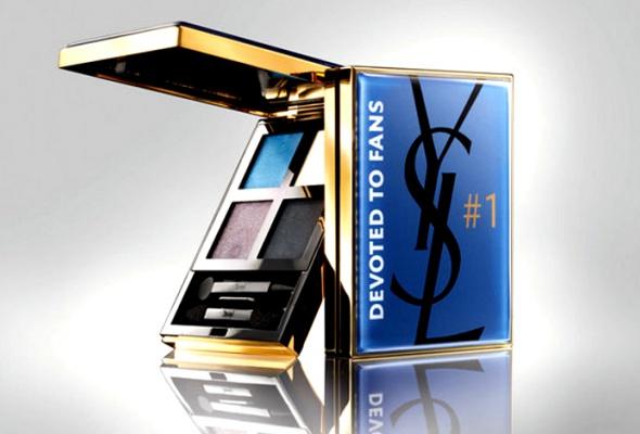 Yves Saint Laurent иFacebook выпустят тени для век - Фото №1