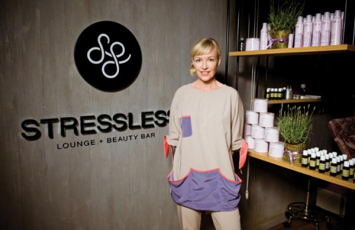 НаМалой Бронной открылся концептуальный салон StressLess Lounge & Beauty Bar