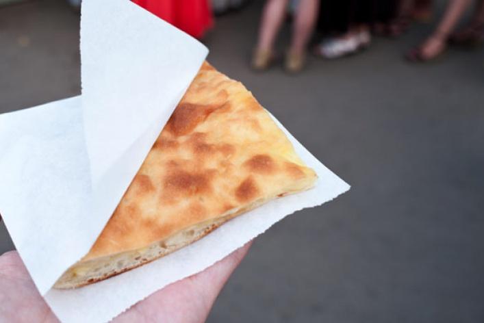 Нестандартная уличная еда