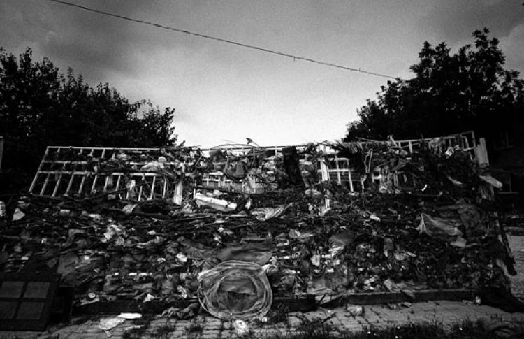 Крымск. Работа фотографа в условиях чрезвычайной ситуации
