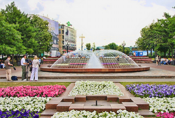Новопушкинский сквер - Фото №0