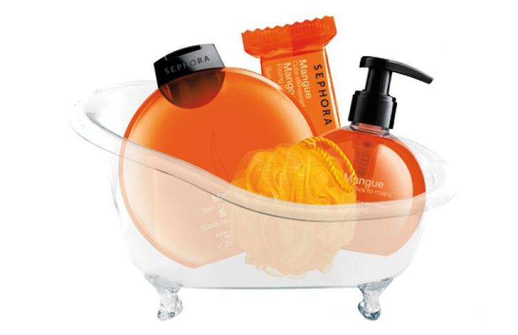 Ванночка в подарок от Sephora