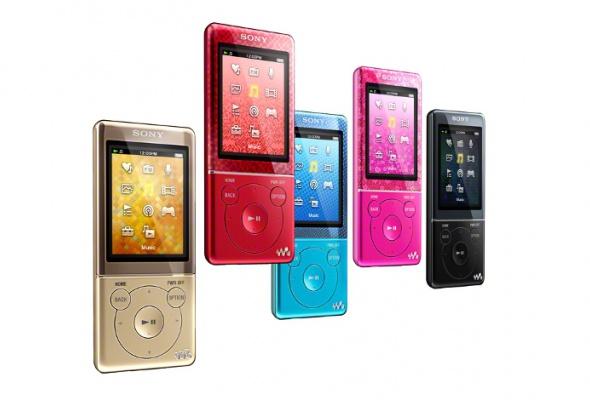 Новые MP3-плееры Sony Walkman - Фото №0