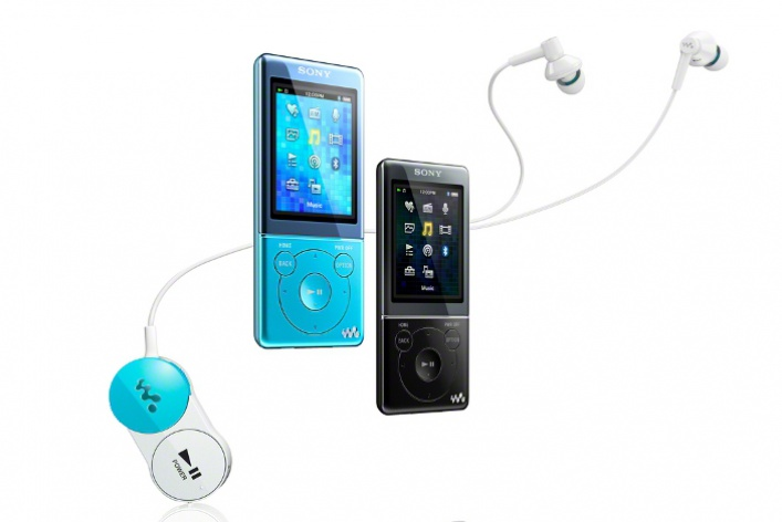Новые MP3-плееры Sony Walkman