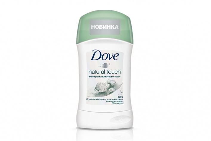 Новые антиперспиранты Dove сминеральными солями Мертвого моря