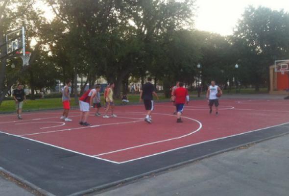 Баскетбольная площадка Парка Горького - Фото №0
