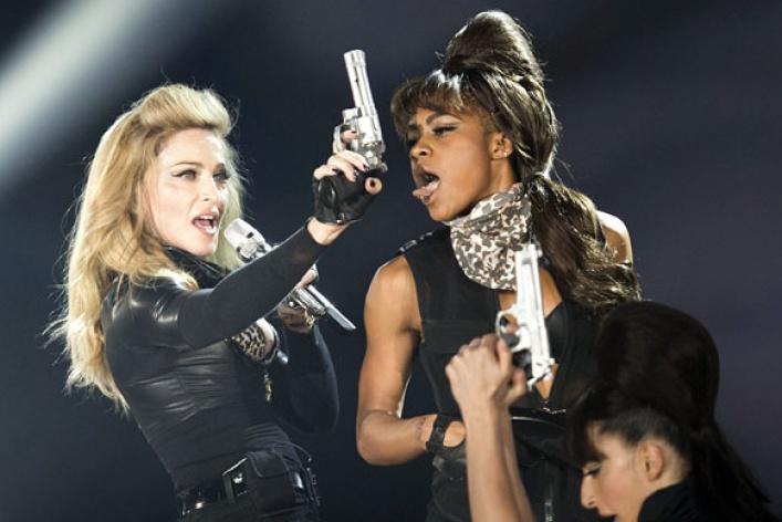 Мадонна: 7скандалов «MDNA»
