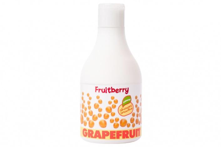 Появилась новая марка вкусных инатуральных средств для душа Fruitberry