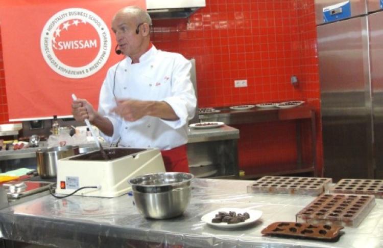 Мастер-класс швейцарского шоколатье Урса Майхтри вSwissam