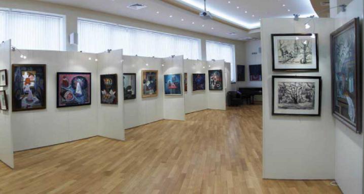 Выставочный зал Российской Академии Искусств