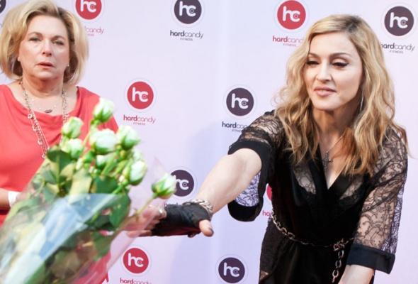 Мадонна посетила свой московский фитнес-клуб - Фото №3