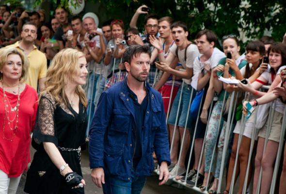 Мадонна посетила свой московский фитнес-клуб - Фото №1