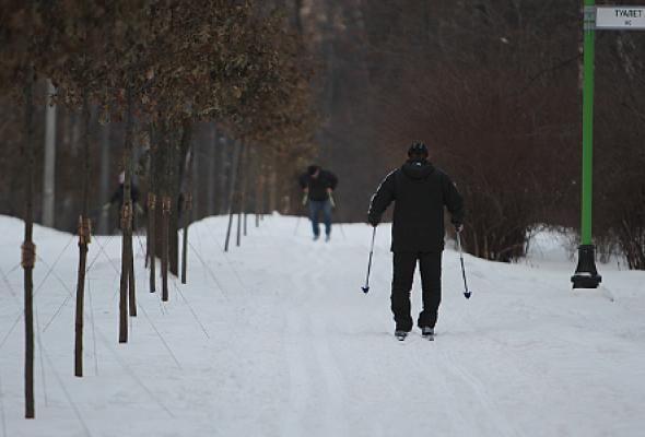 Прокат лыж в Сокольниках  - Фото №1