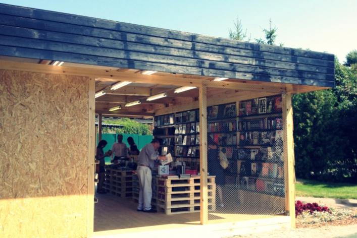 ВПарке Горького открылся книжный магазин
