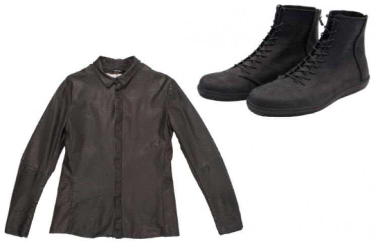 На мужском этаже Podium Concept Store распродают вещи черного цвета