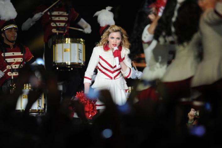 Мадонна поддержала Pussy Riot наконцерте вМоскве