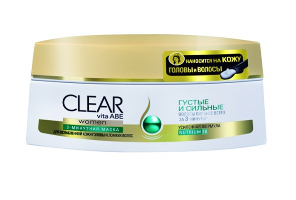 CLEAR vita ABE представил новые средства для волос после мытья - Фото №0
