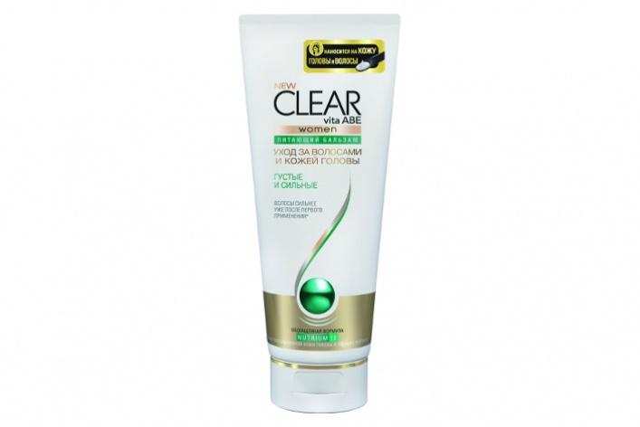 CLEAR vita ABE представил новые средства для волос после мытья
