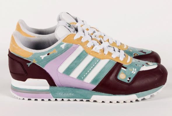 Художники Street Kit создали свою версию кроссовок ZXadidas Originals - Фото №2