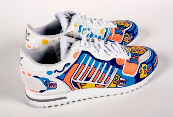 Художники Street Kit создали свою версию кроссовок ZXadidas Originals - Фото №4