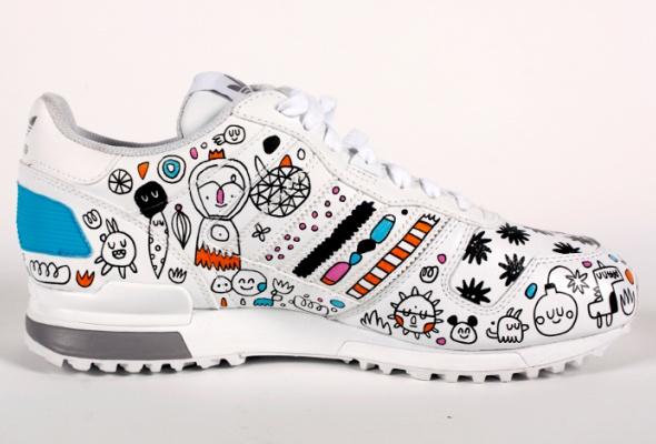 Художники Street Kit создали свою версию кроссовок ZXadidas Originals - Фото №1