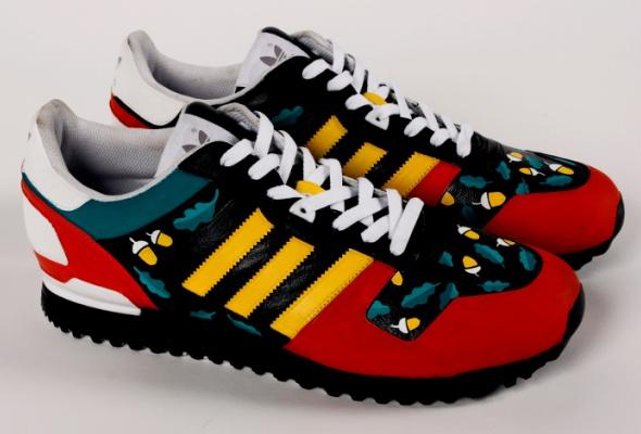 Художники Street Kit создали свою версию кроссовок ZXadidas Originals - Фото №0