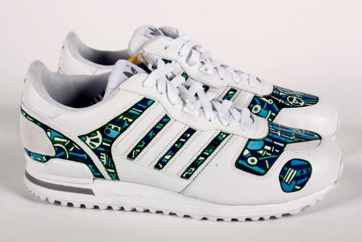 Художники Street Kit создали свою версию кроссовок ZXadidas Originals