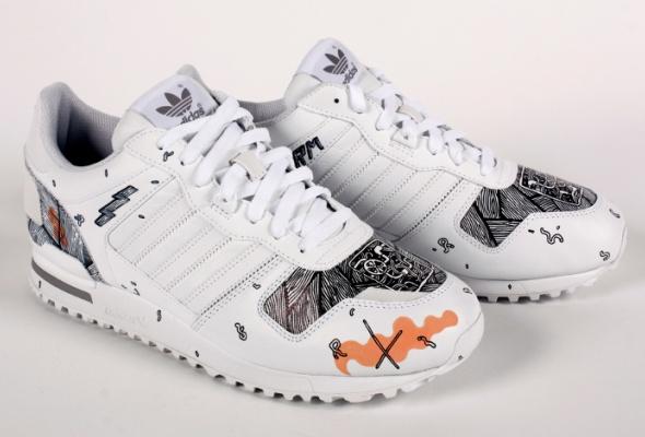 Художники Street Kit создали свою версию кроссовок ZXadidas Originals - Фото №8