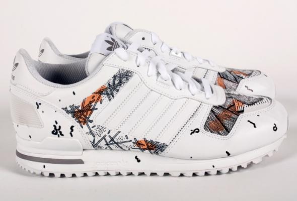 Художники Street Kit создали свою версию кроссовок ZXadidas Originals - Фото №9