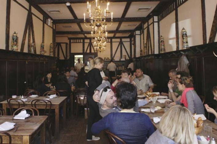 Рестораны ибары Нью-Йорка