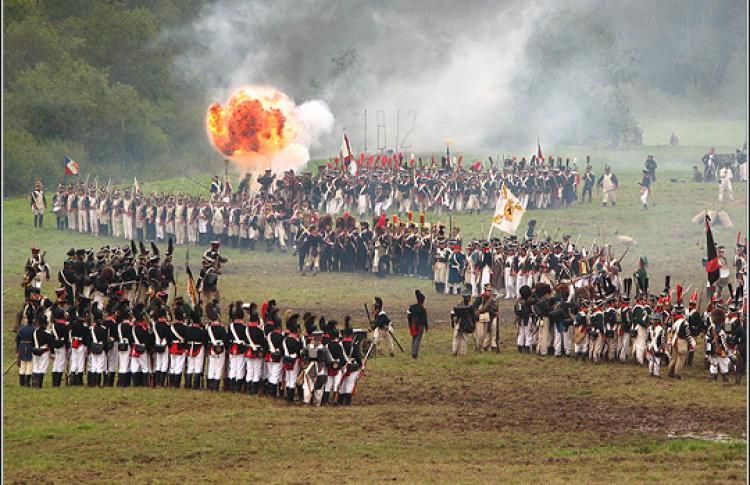 Шоу «Бородинское сражение»