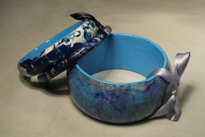 Мармарирование: Роспись с помощью воды