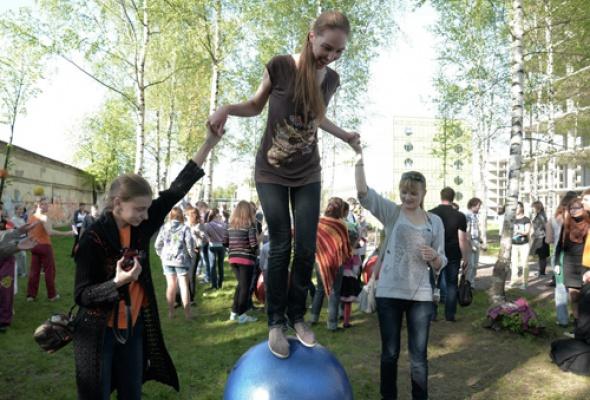 """V Международный фестиваль """"Летающие дети"""" - Фото №0"""