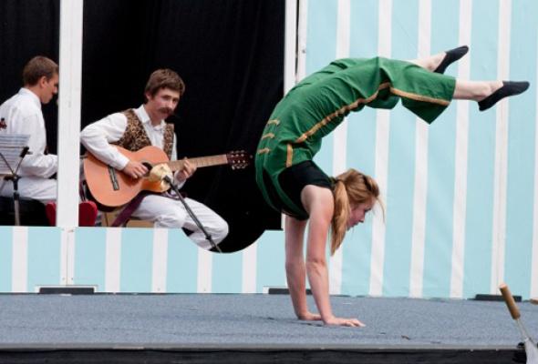 """V Международный фестиваль """"Летающие дети"""" - Фото №1"""