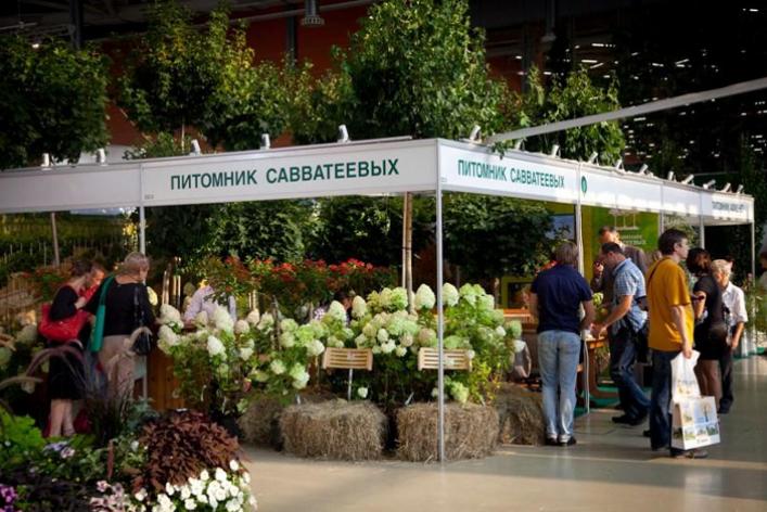 XIX Международная выставка «Цветы»