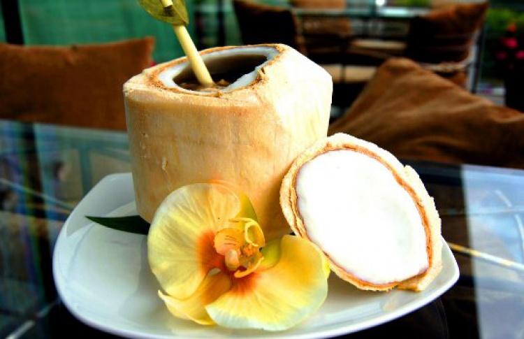 Блюда с манго и кокосом
