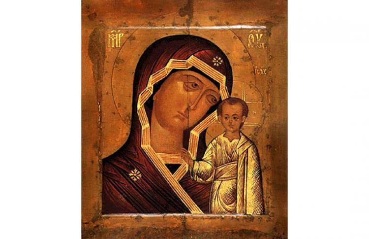 Женщины на русских иконах