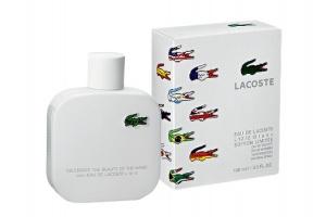 Мужской аромат Eau deLacoste L.12.12.Blanc появился влимитированном флаконе