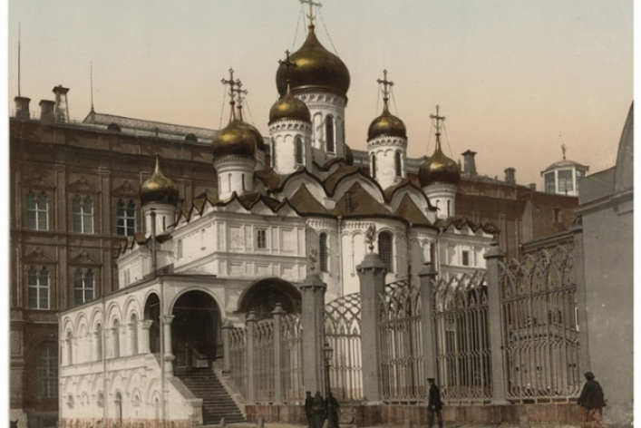 Москва в фотографиях Петра Павлова