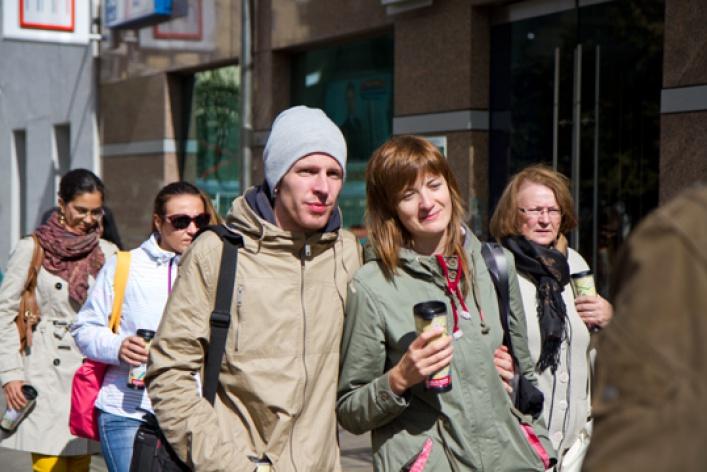 Прогулки соStarbucks: 1сентября