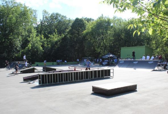 Скейтпарк в парке Сокольники - Фото №0