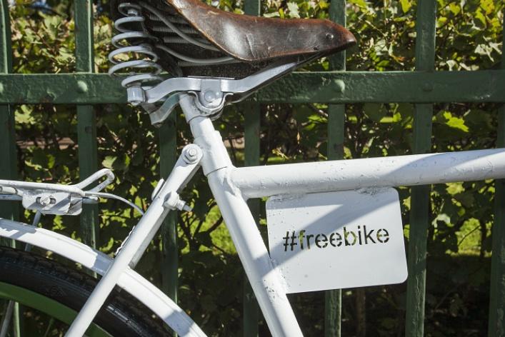 Первые #FreeBike уТаврического сада