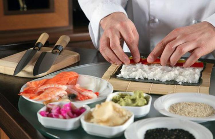 Демонстрация суши
