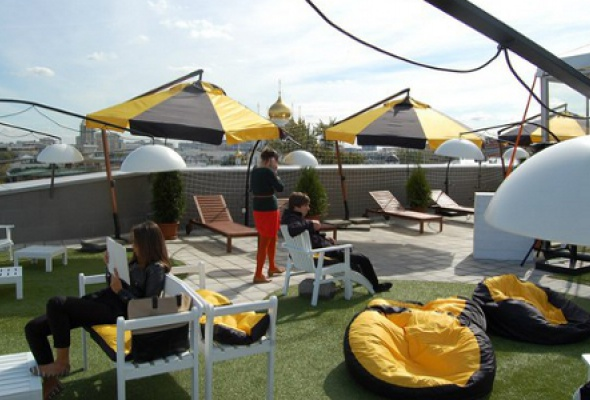 Крыша Мультимедиа Арт Музея - Фото №0